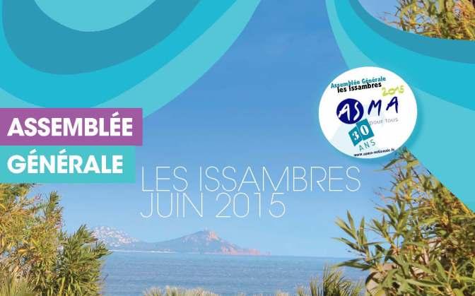 ASMAGAZINE 82 : Assemblée Générale 2015 aux Issambre (Var)
