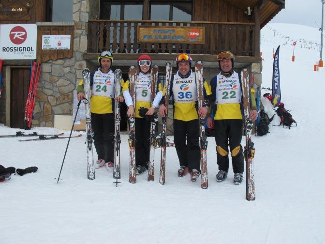 Coupe de ski alpin à l'Alpe d'Huez