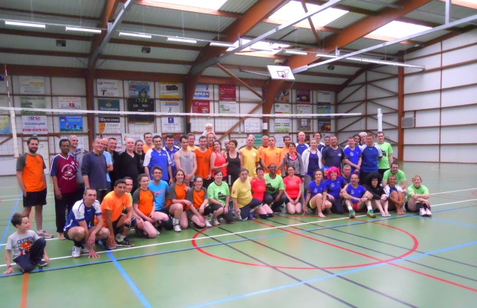 Coupe sportive de volley en Anjou
