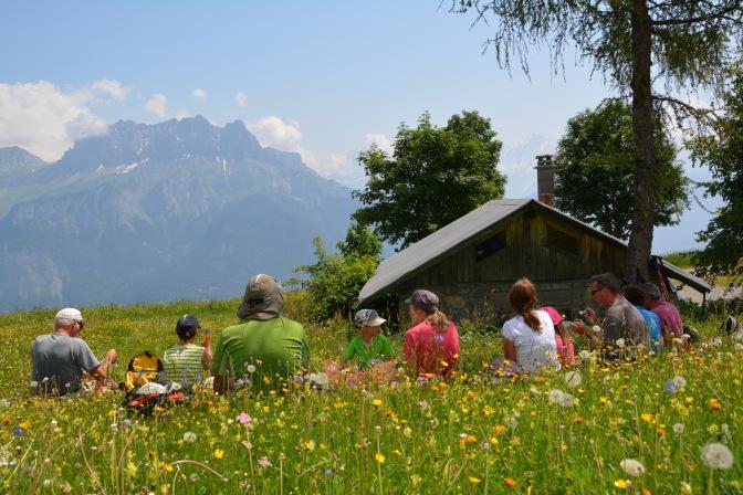 À Megève cet été au chalet de Rochebrune…