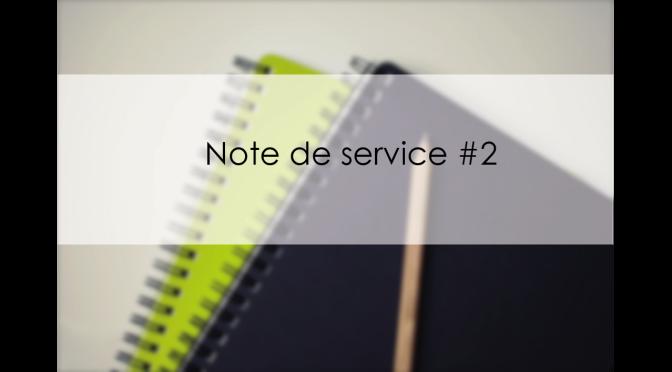 Note de service #2 – Rôles des AD / Adhérents et Bénéficiaires