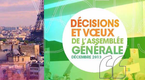 ASMAGAZINE 79 : décisions et vœux de l'Assemblée Générale 2013