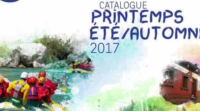 Catalogue printemps/été/automne 2017