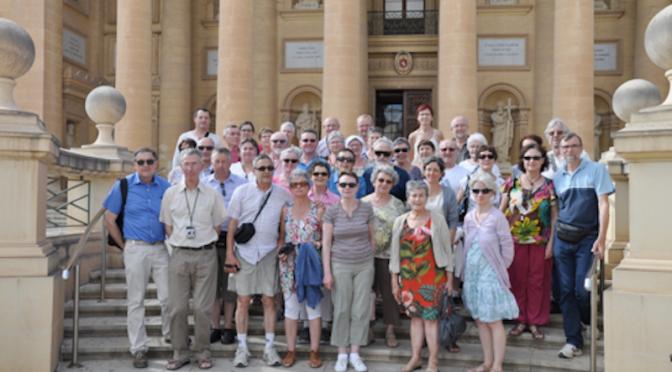 Malte : séjour découverte pour l'ASMA 35