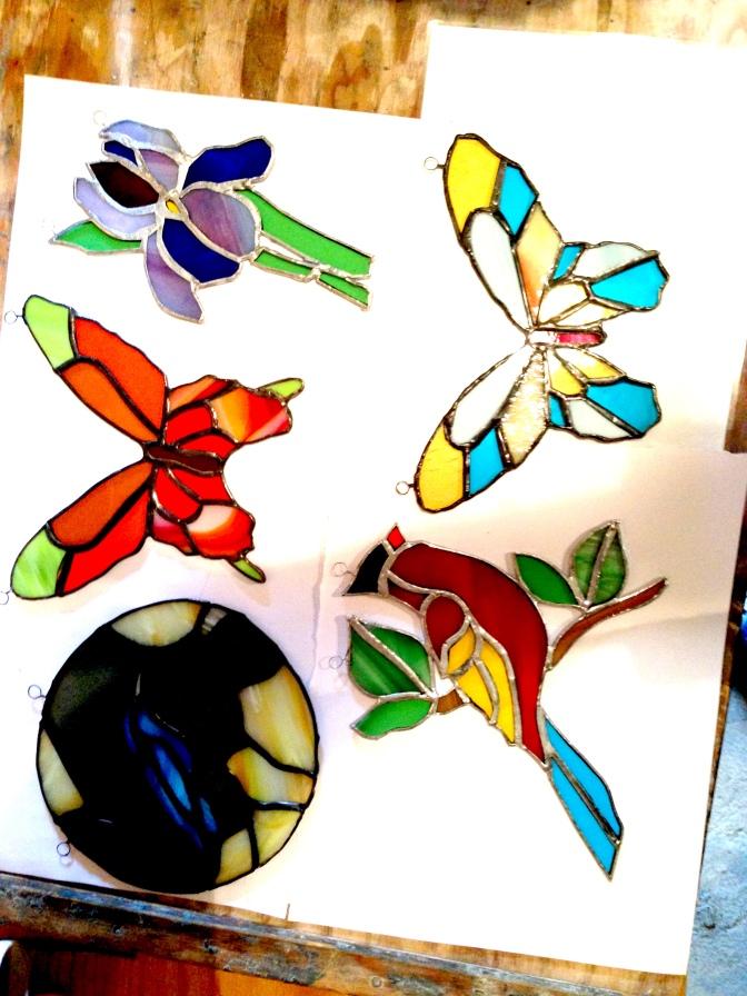 Retour sur le stage pratique «arts du verre» à Cordes