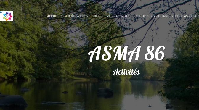 ASMA 86 : un nouveau site tout neuf !